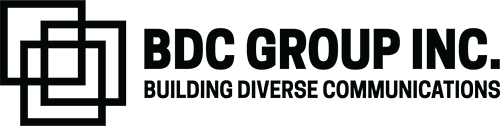 BDC Group Inc. Logo Horizontal Black