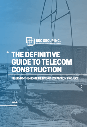 eBook The Definitive Guide to Telecom Construction BDC Group Inc.
