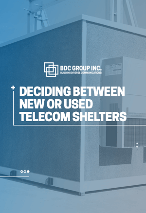 eBook Deciding Between New or Used Telecom Shelters