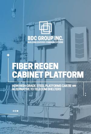 eBook Fiber Regen Cabinet Platform BDC Group Inc.
