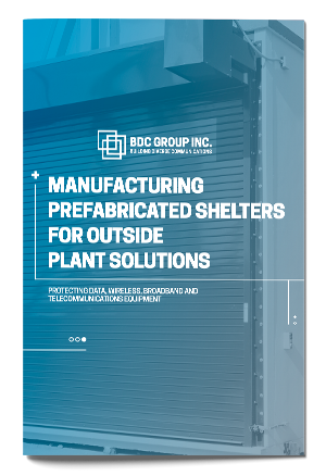eBook Manufacturing Prefabricated Shelters for Outside Plant Solutions