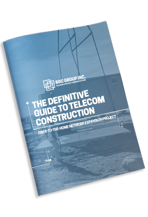 eBook The Definitive Guide to Telecom Construction