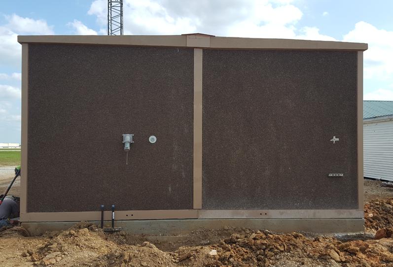 Customization Large Concrete Shelter