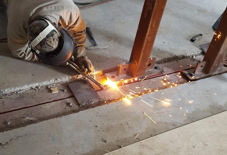 Customization Welding Concrete Shelter